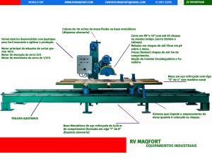 Maquina de cortar granito