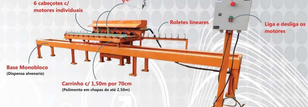 maquina para acabamento de bordas
