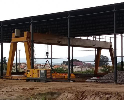 Maquina para movimentar toneladas